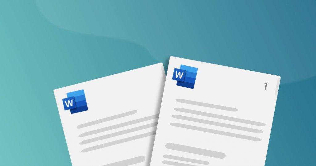 Word oldalszámozás tetszőleges oldaltól